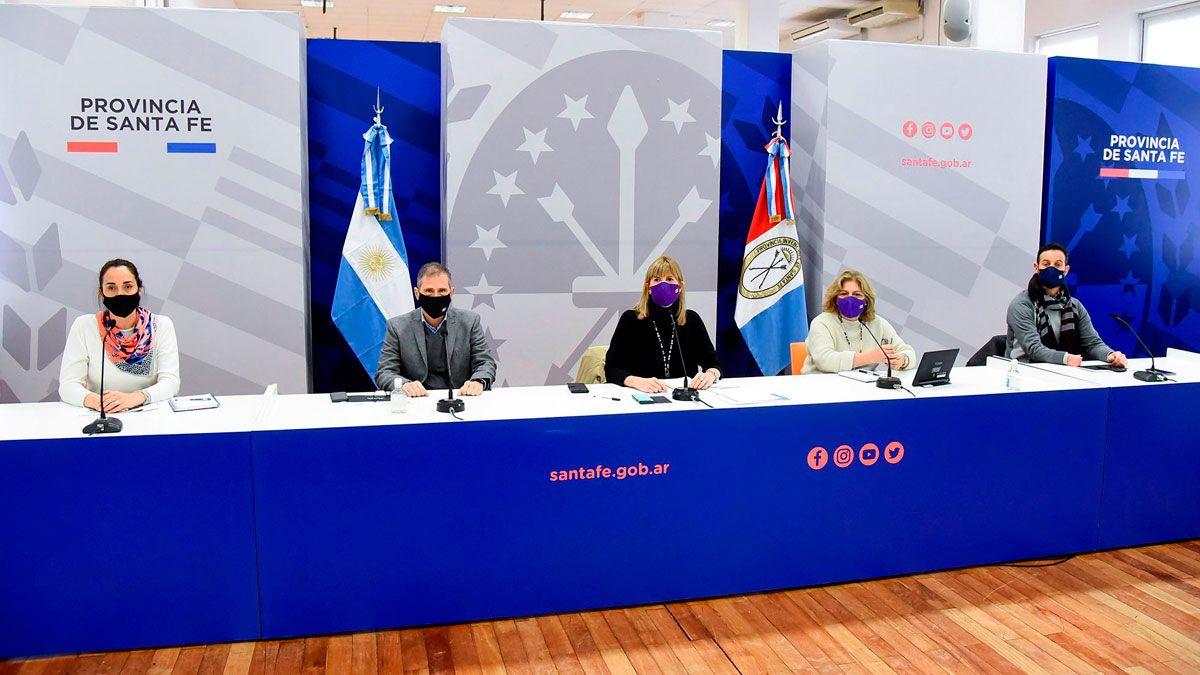 De la renión participaron la vicegobernadora Alejandra Rodenas