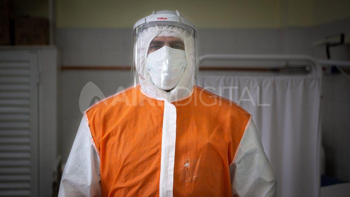 El personal de salud se enfrentó a los contagios