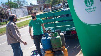 Se acordó el nuevo precio de referencia para la garrafa accesible en Santa Fe