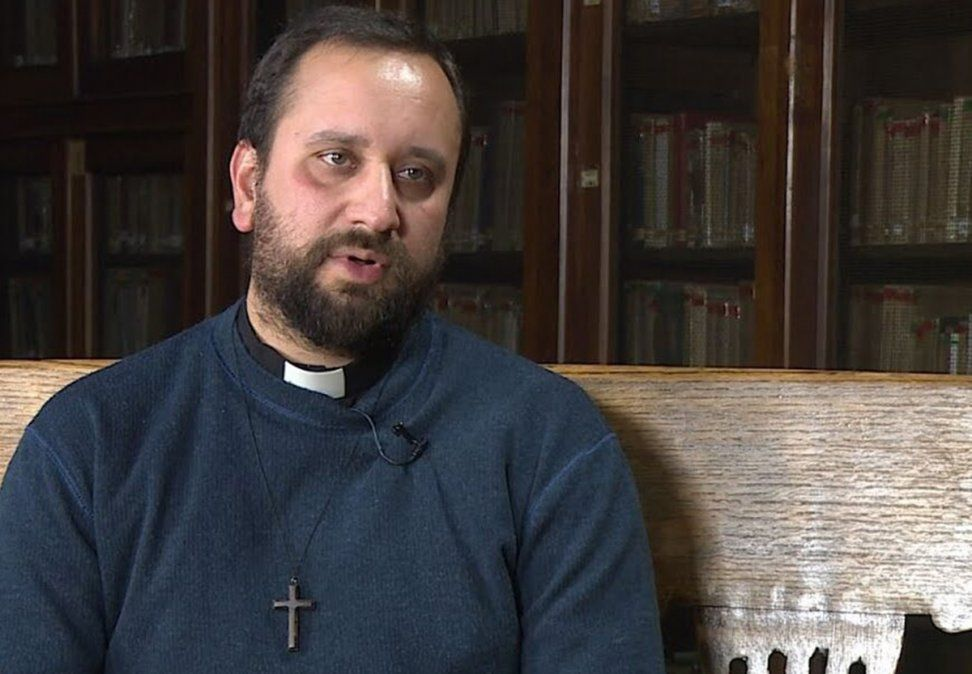Padre Matías Camussi: Dios ha querido que esté acá para que siga realizando mis actividades para él