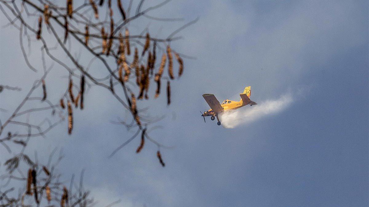 Incendios activos: el Gobierno nacional asiste con aviones y brigadistas a distintas provincias