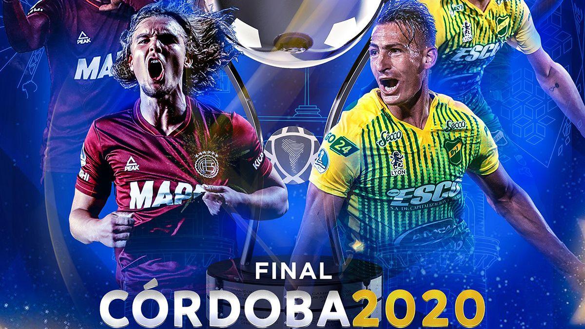 Lanús y Defensa y Justicia definirán al ganador de la edición 2020 de la Copa Conmebol Sudamericana.
