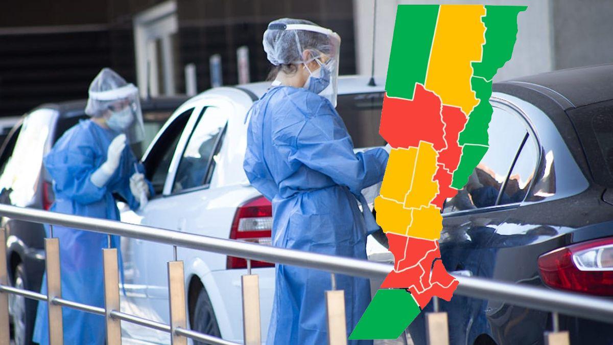 Coronavirus: La Capital y otros ocho departamentos están dentro de las zonas rojas según los índices provinciales