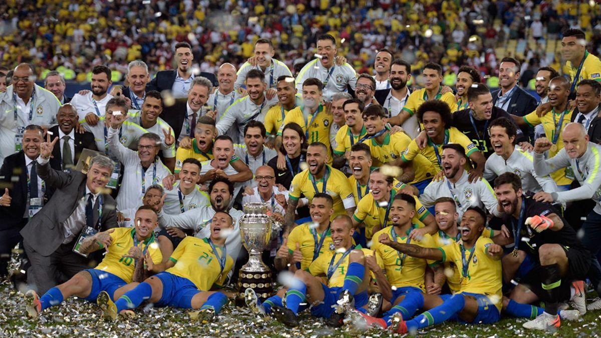 El seleccionado de Brasil viene arrasando en las eliminatorias sudamericanas.