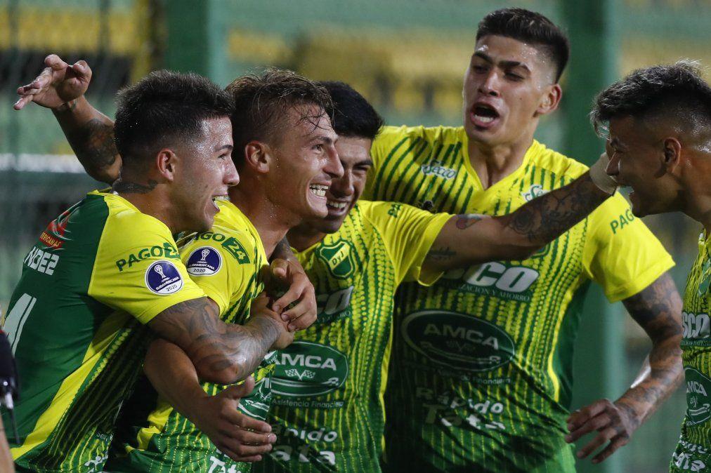 El Halcón hace historia y se mete entre los cuatro mejores de la Copa Sudamericana.
