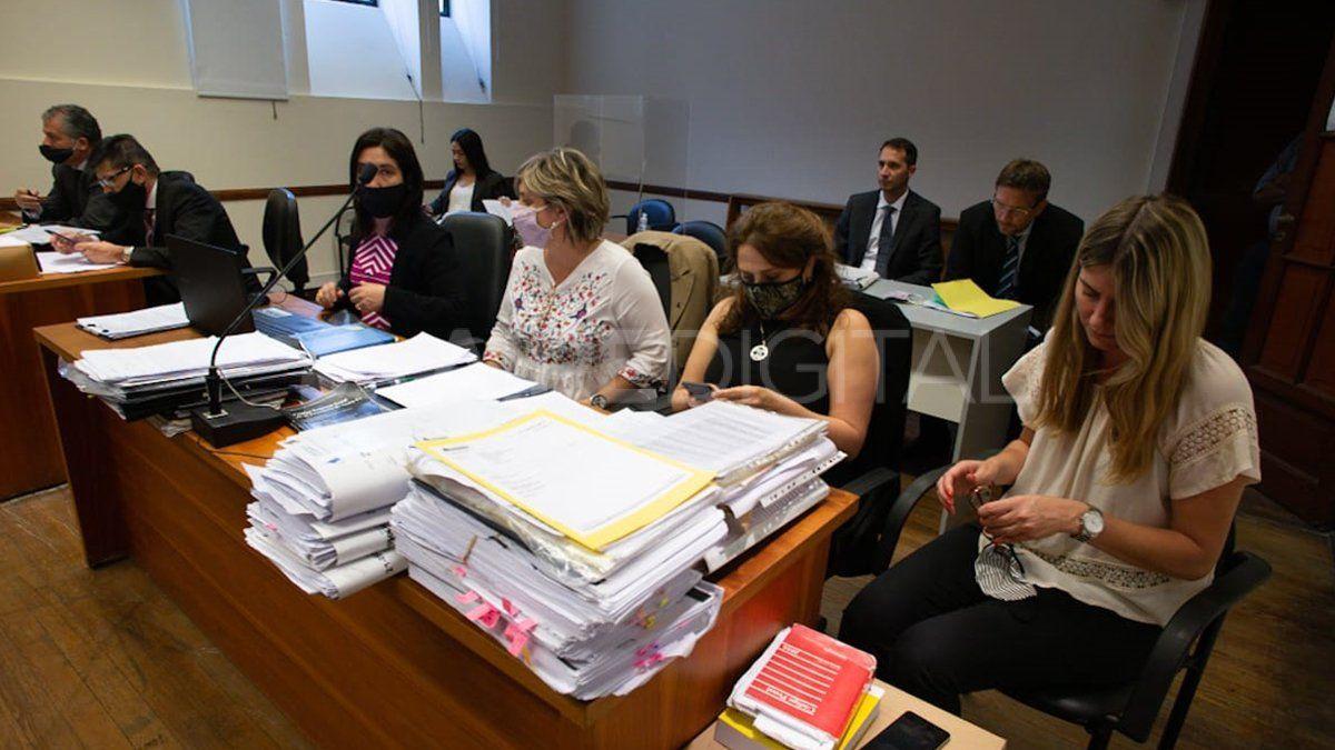 La audiencia se desarrolló en la sala 2 del subsuelo de tribunales.