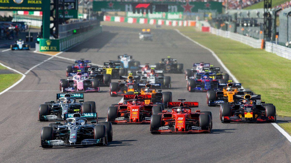La Fórmula 1 descartó correr este año en tres circuitos importantes