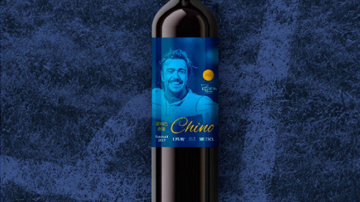 Un ídolo del fútbol uruguayo presentó su propia línea de vinos