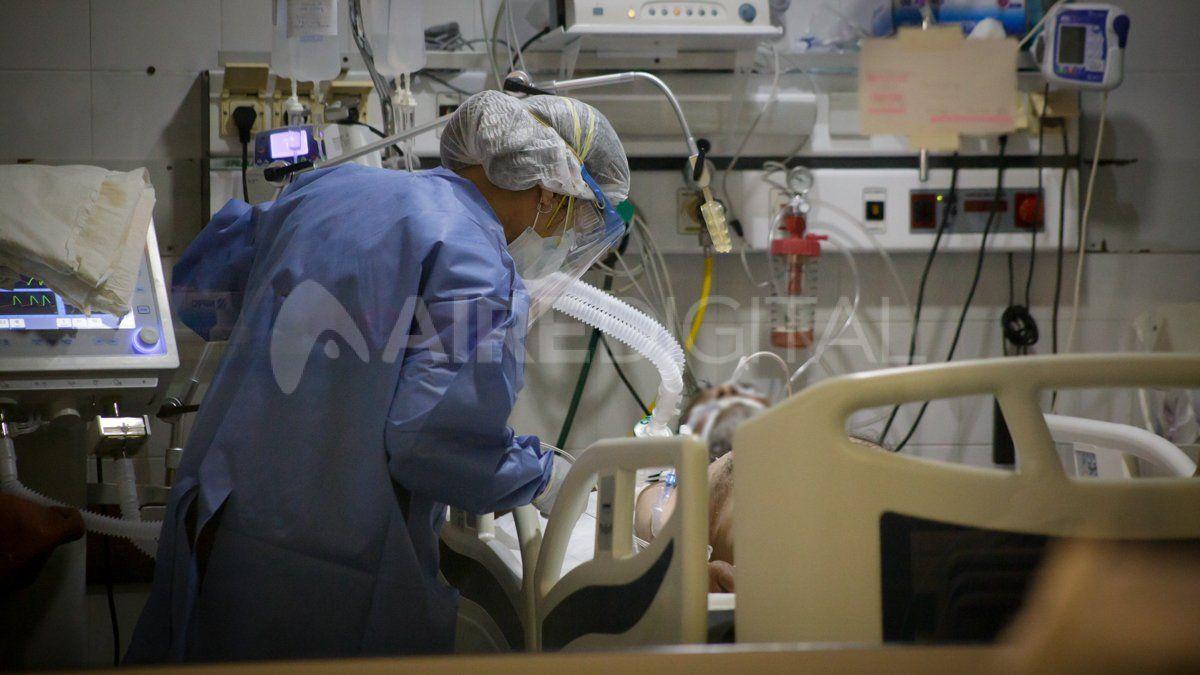 Terapia Covid del Hospital Cullen de Santa Fe.