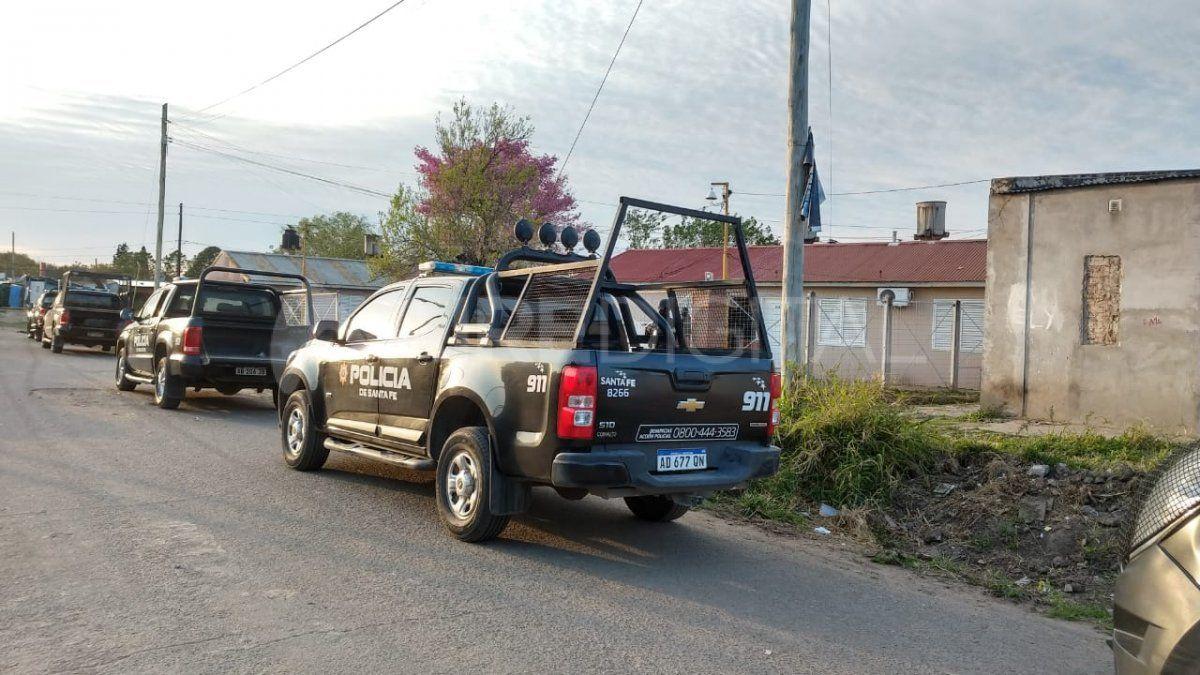 Allanamientos en Santa Rosa de Lima