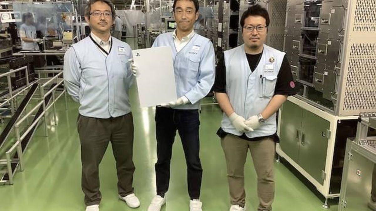 Se filtraron imágenes de la fabricación de la Playstation 5
