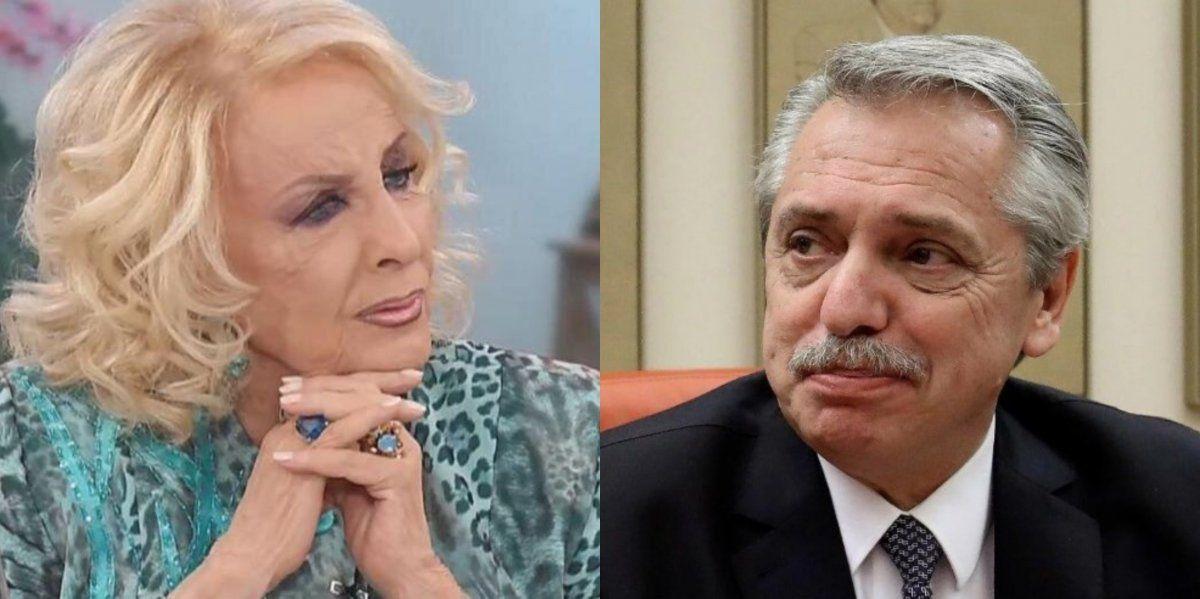 El contundente pedido de Mirtha Legrand a Alberto Fernández