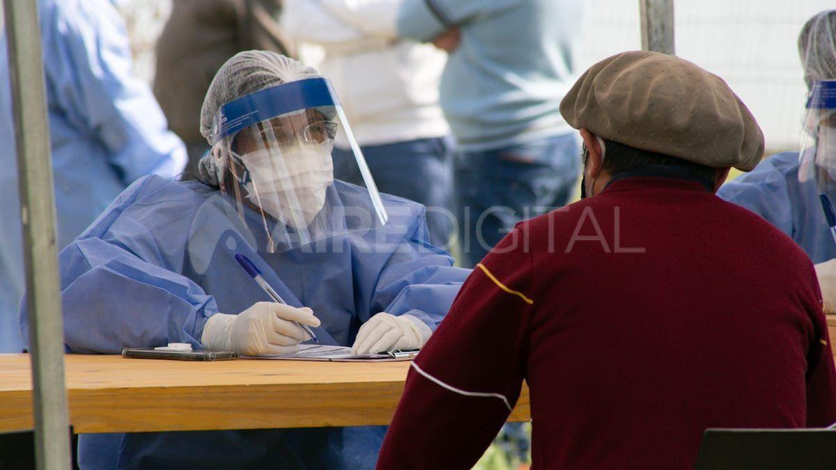 Operativo Detectar Federal en Sauce Viejo.