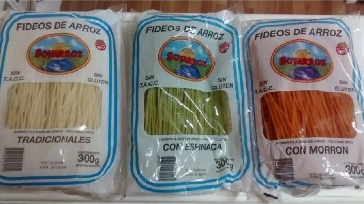 La Anmat prohibió productos a base de arroz peligrosos para celíacos y alérgicos a la leche