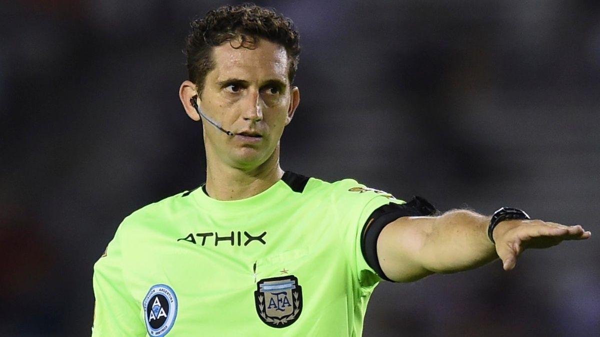 Nicolás Lamolina dirigirá Boca-Colón