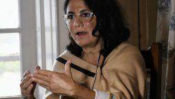 Dolores Etchevehere dijo estar contenta por el fallo del juez Raúl Flores, quien resolvió no hacer lugar al pedido de desalojo en un predio en disputa en el marco de un juicio sucesorio con sus hermanos, a quienes acusó de poner a la mujer en un lugar de una persona que molesta.