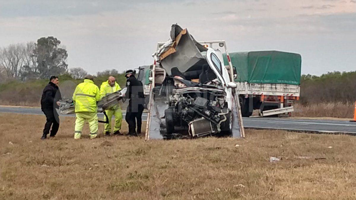 Accidente fatal en la autopista Santa Fe- Rosario