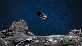 La Nasa aterrizó por primera vez en un asteroide
