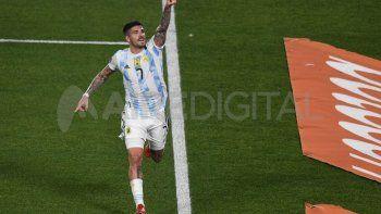 Rodrigo De Paul cumplió el sueño de la escuelita de fútbol en donde se inició como futbolista