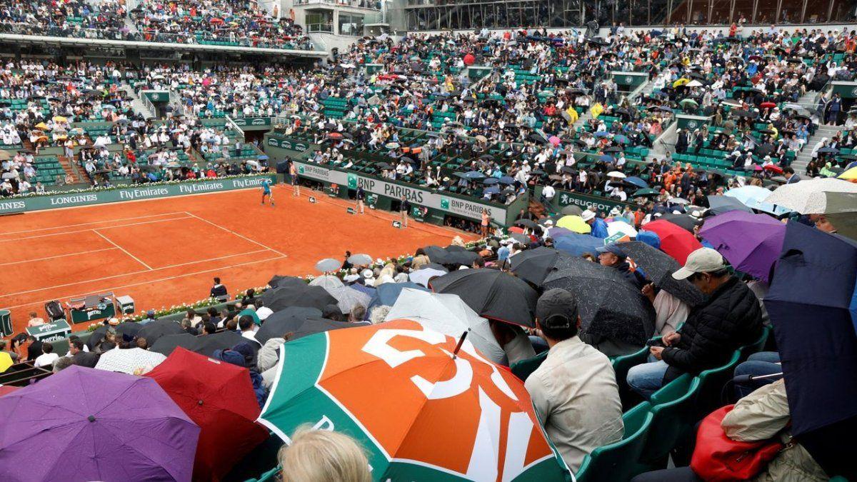 La Federación Francesa de Tenis informó que el Grand Slam parisino se jugará con el 60% de capacidad en los estadios.