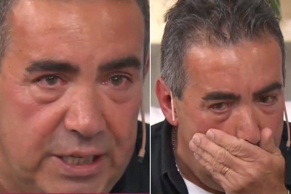 Diego Pérez se conmovió al hablar con Pampita sobre la salud de sus padres. El video.