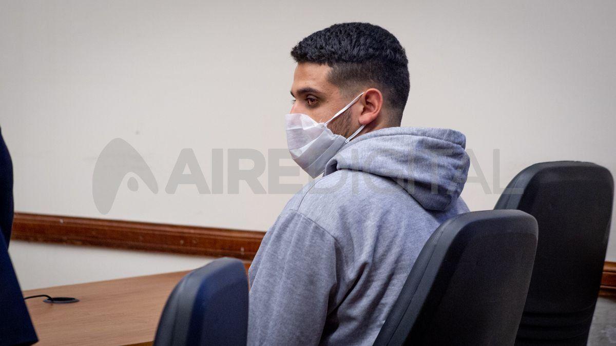 Cristian Figueroa cumplía prisión preventiva en el penal de Las Flores