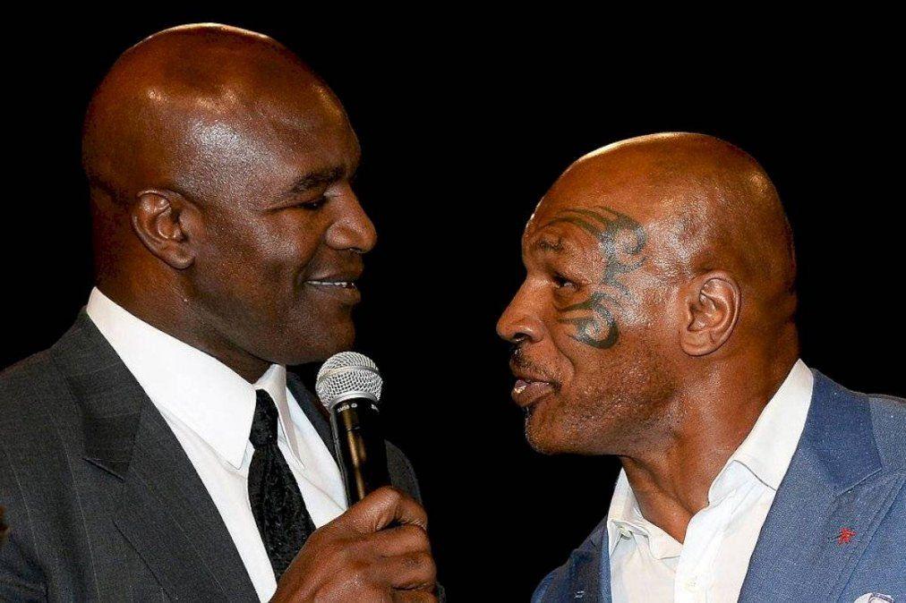 Mike Tyson fue retado por Evander Holyfield para realizar una pelea de exhibición.