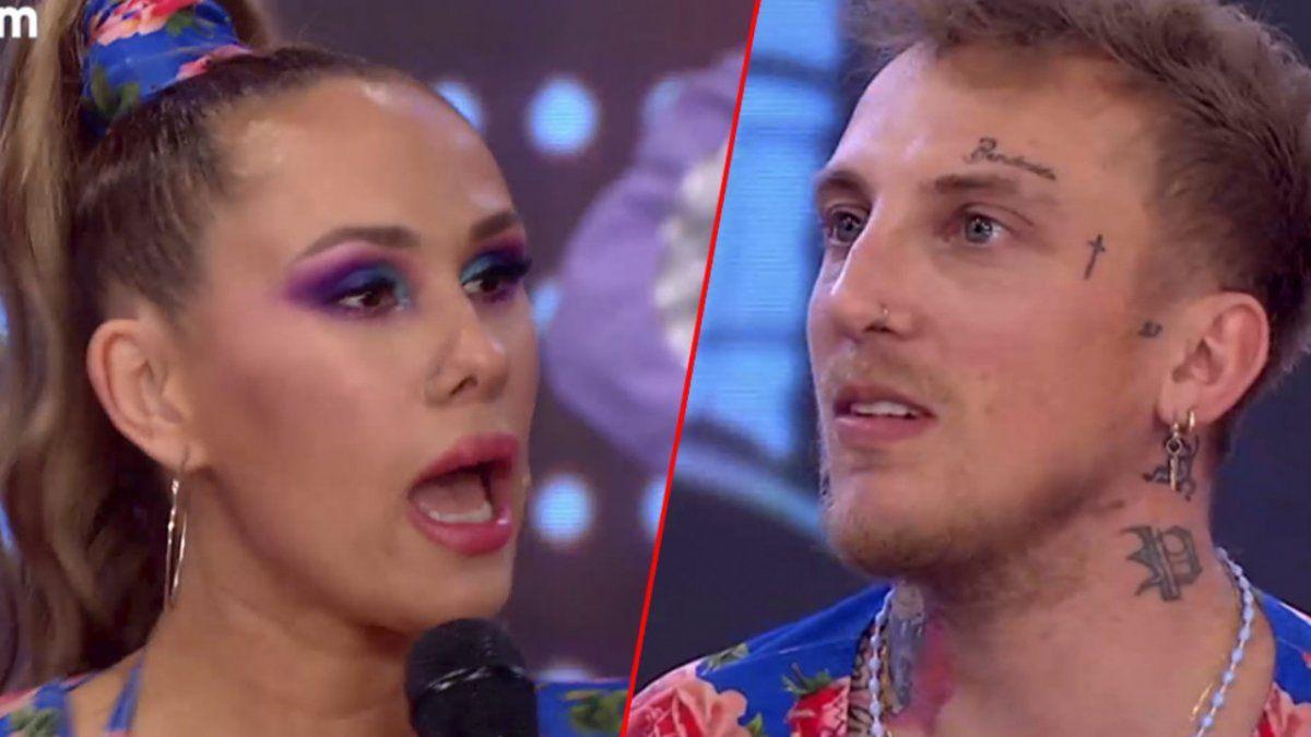 El Polaco y Barby Silenzi se trenzaron en pleno programa de La Academia de ShowMatch. ¿Qué pasó ahora?