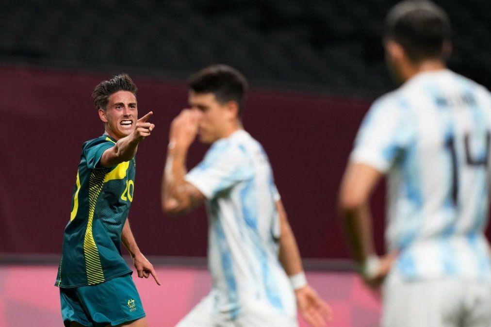 Juegos Olímpicos Tokio 2020: la Selección Argentina perdió con Australia