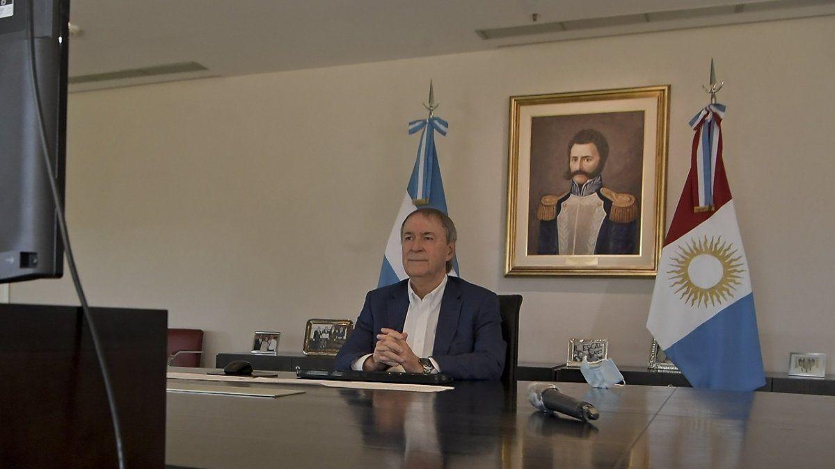 El gobernador Juan Schiaretti encabezó la presentación del proyecto de biocombustibles.