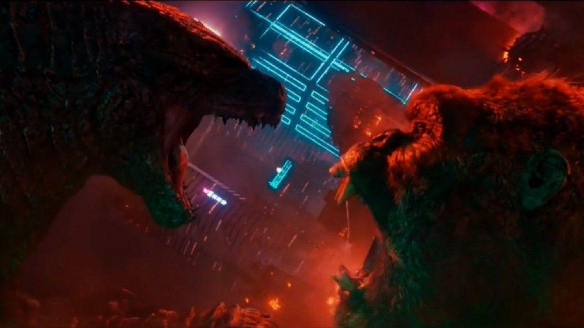 """Warner Bros. Pictures dio a conocer los pósters de """"Godzilla vs. Kong""""."""