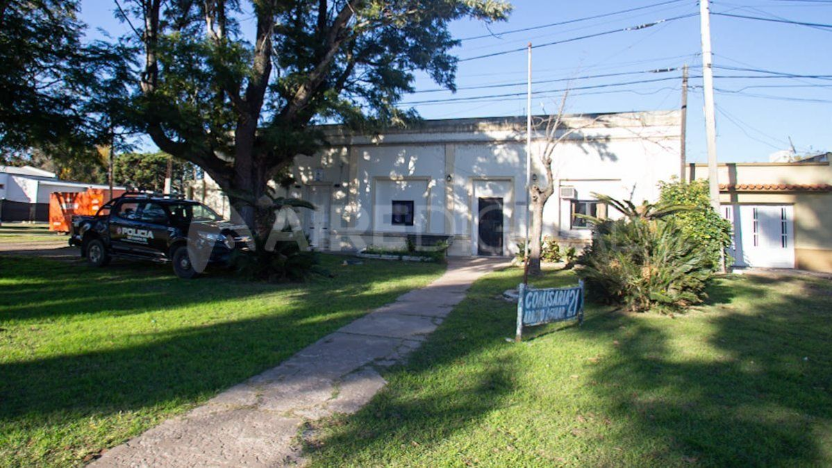 La Comisaría 21 en Arroyo Aguiar.