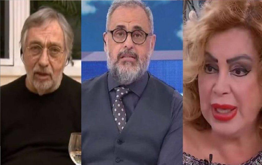 Fuerte reacción de Ángel de Brito tras el polémico tweet de Jorge Rial sobre el covid positivo de Luis Brandoni