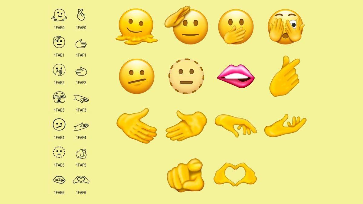 Se espera que los nuevos emojis estén disponibles a finales de 2021.