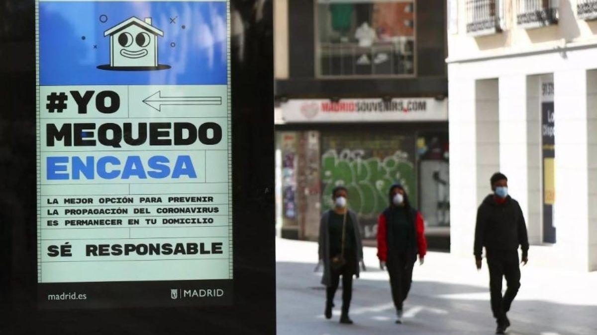 La región de Madrid registra unos 700 casos por cada 100.000 habitantes