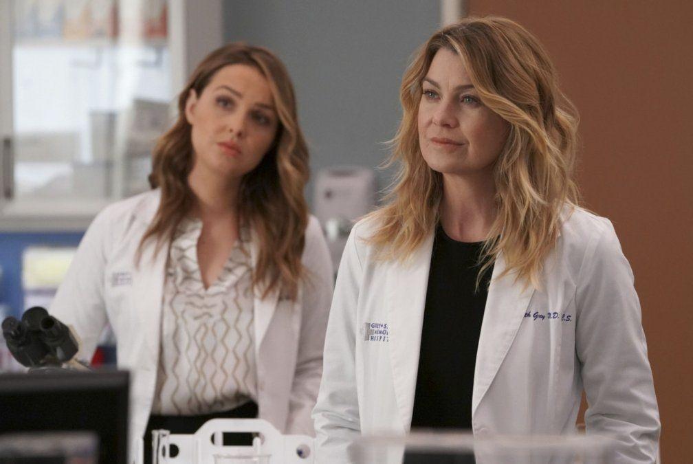 Greys Anatomy no tendrá ningún capítulo esta semana.
