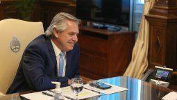 El presidente de la Nación, Alberto Fernández mantuvo una charla telefónica este lunes con el mandatario electo de los Estados Unidos, Joe Biden.