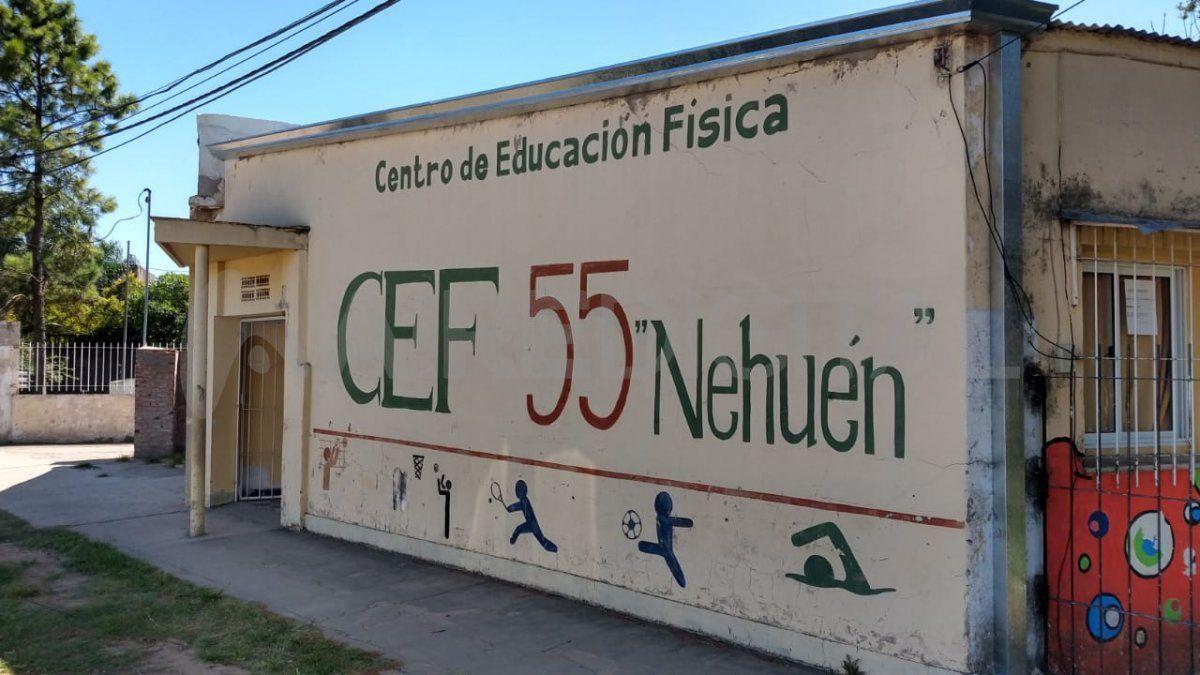El Centro de Educación Física 55 fue víctima de los robos que se originan en la zona