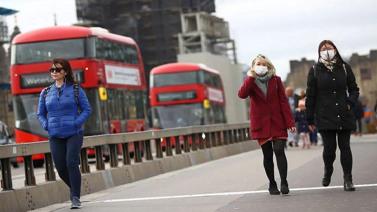 Reino Unido registró más de 100.000 contagios.