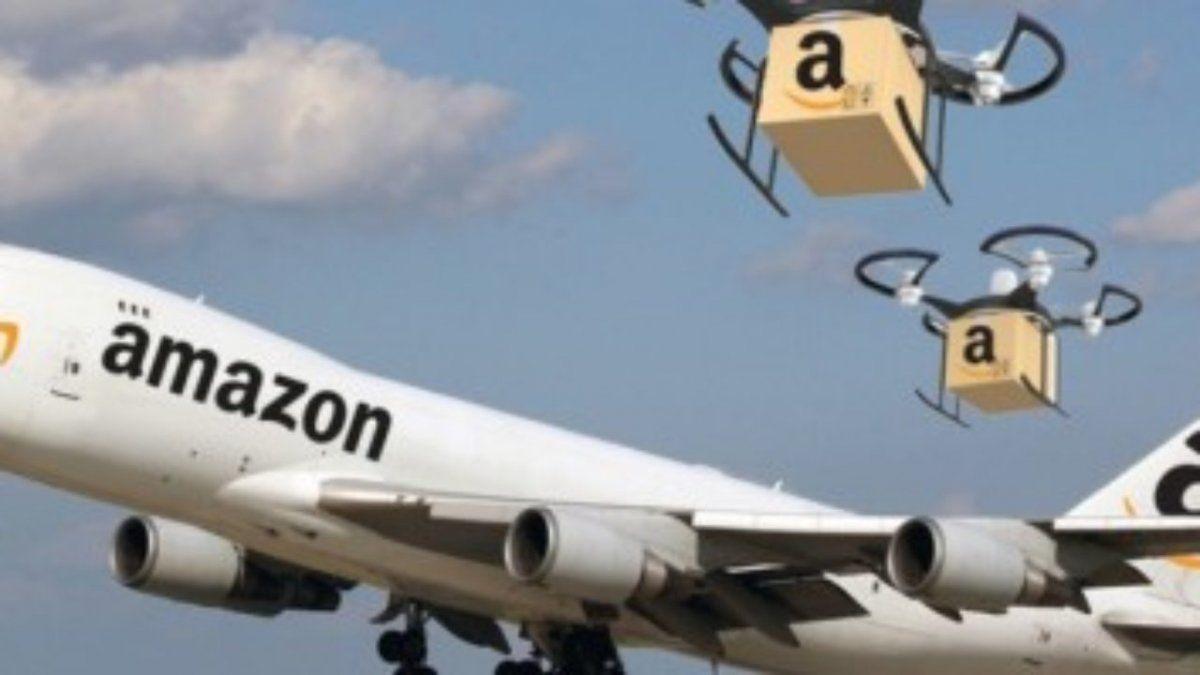Amazon comprará supropia flota de aviones.