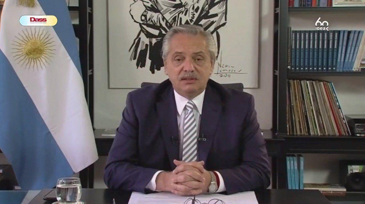 El presidente Alberto Fernández participó de la apertura del 56° Coloquio de Idea.