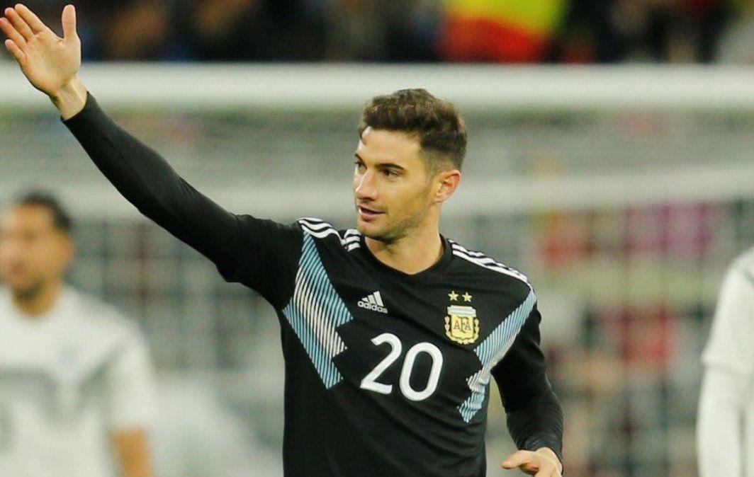 Lucas Alario fue convocado a la Selección Argentina para disputar las cuatro fechas de Eliminatorias Sudamericanas.