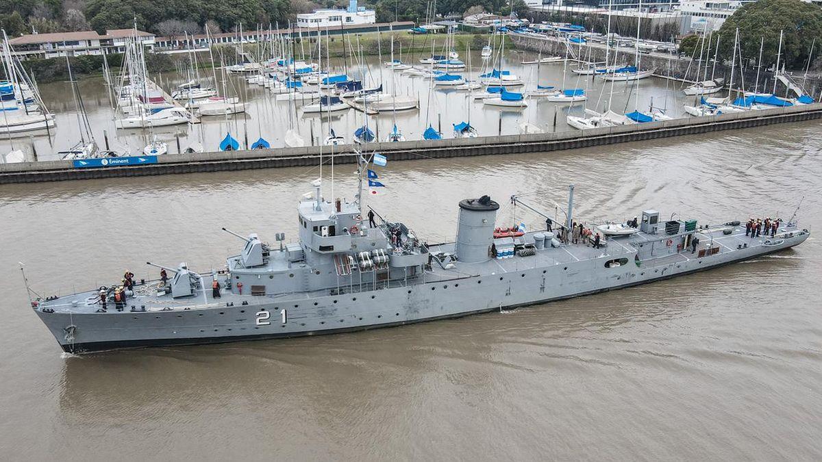 Llegaron a Santa Fe los dos buques destinados a la campaña sanitaria