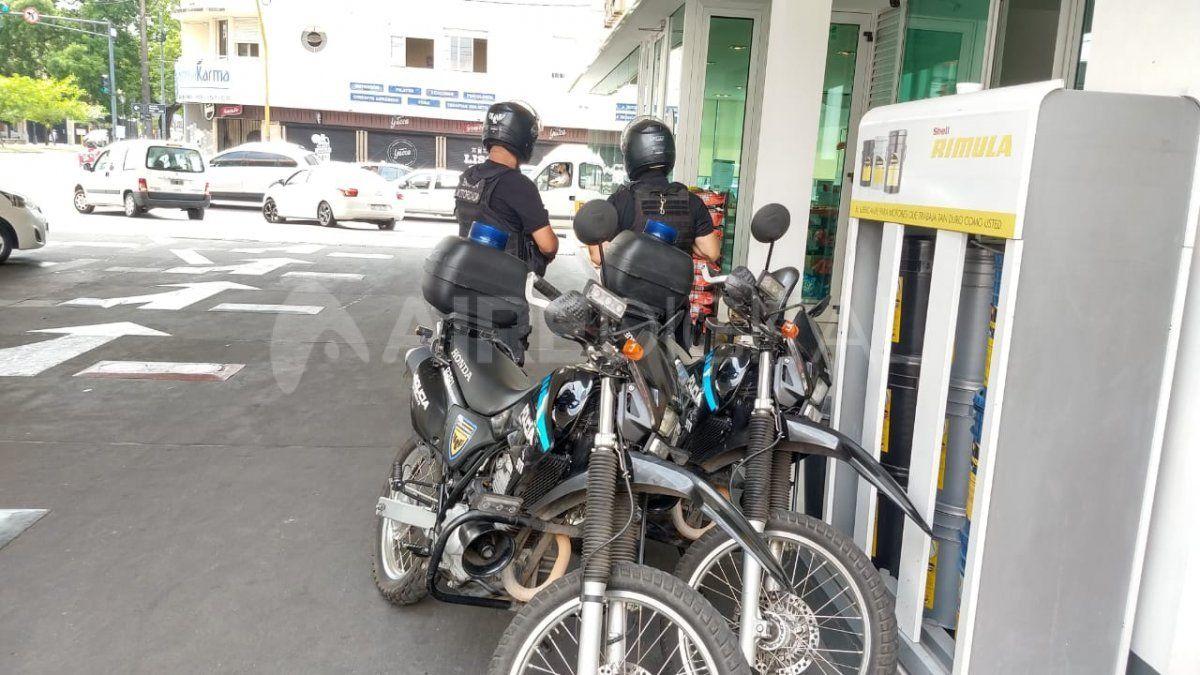 Personal de la motorizada intervino en el conflicto