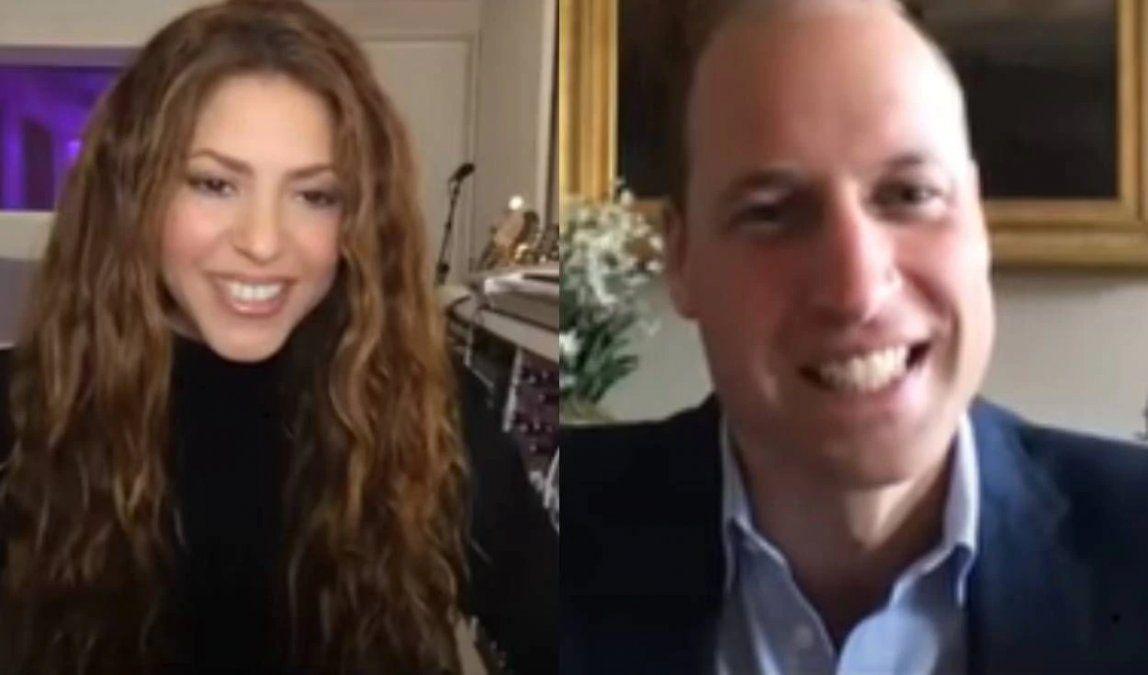 Shakira al príncipe William: Tienes que ir a Colombia conmigo