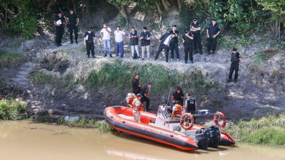 Los restos descuartizados de la jubilada fueron hallados a mediados de febrero de 2020 en el arroyo Saladillo