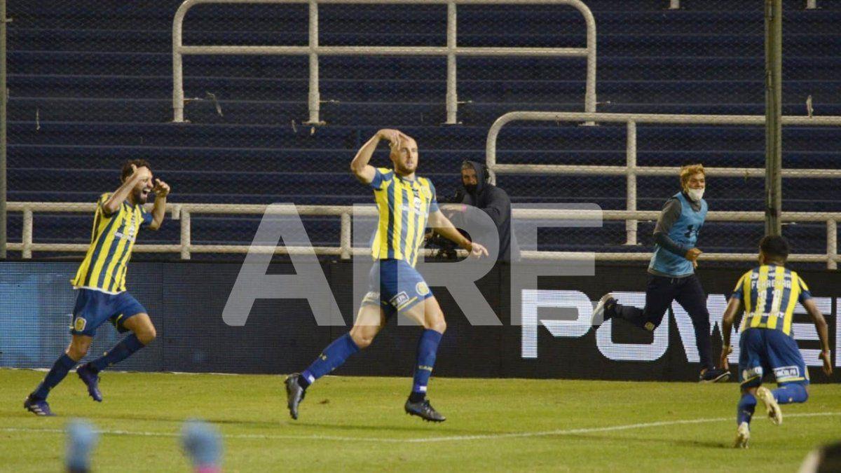 Rosario Central venció 3 a 0 a Newells