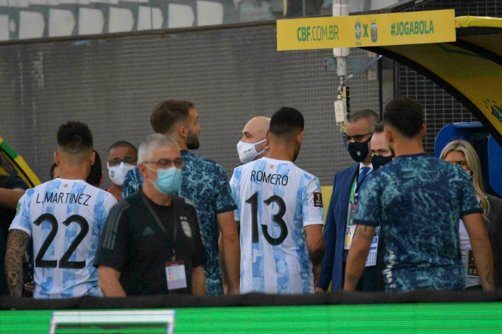 Un documento informa sobre una omisión involuntaria de Argentina en su arribo a San Pablo