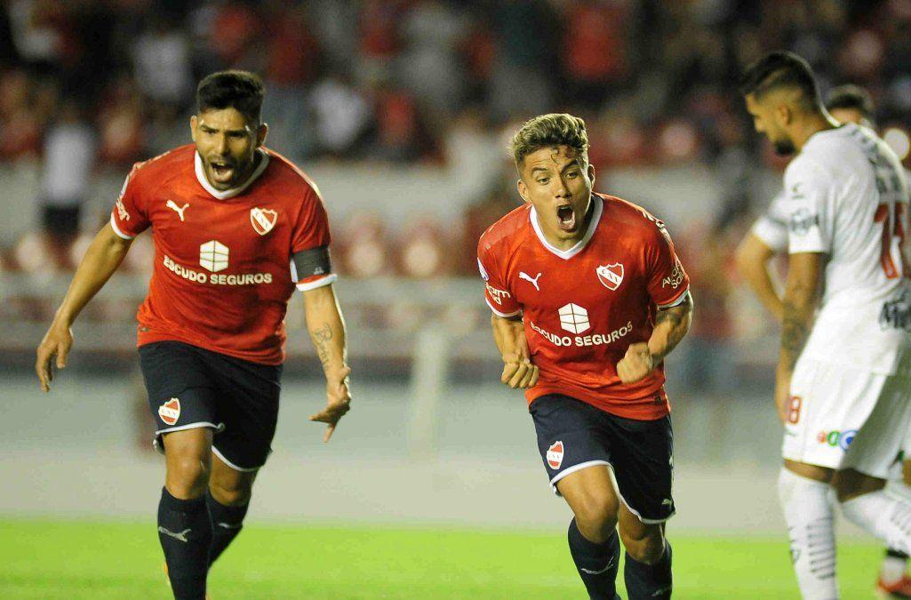 Independiente jugó bien, goleó a Central Córdoba y volvió al triunfo