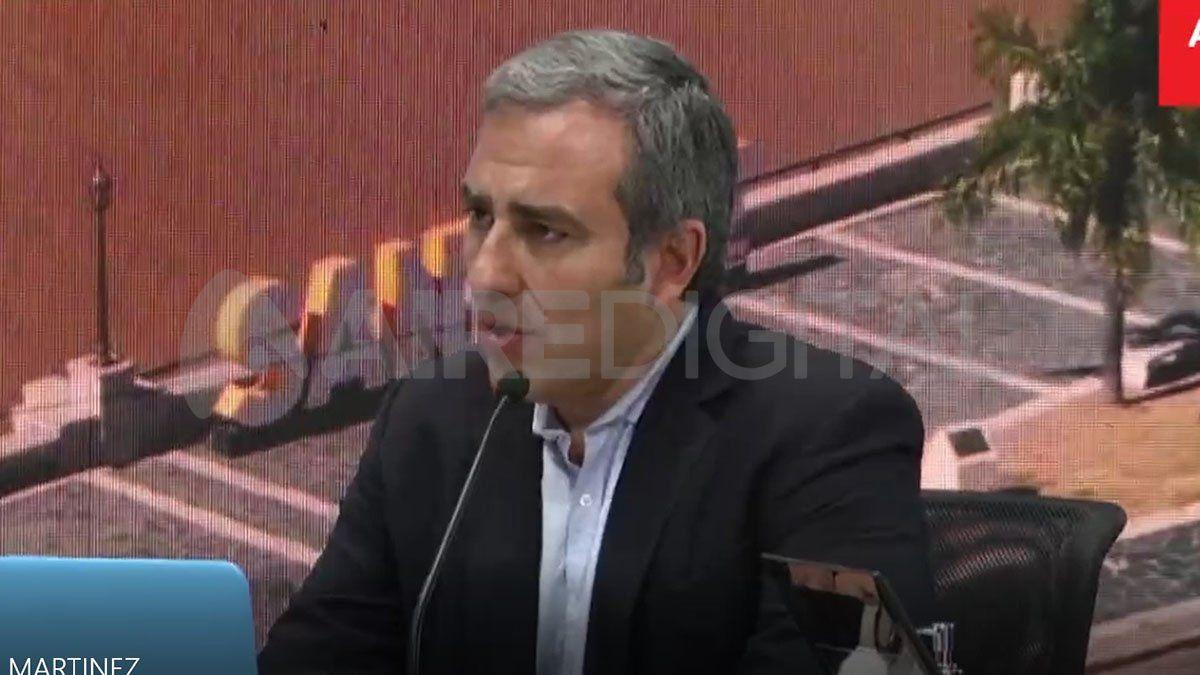 El diputado provincial por el Frente Renovador